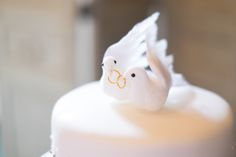 Wedding Cake Topper - Love Birds - Themed Wedding