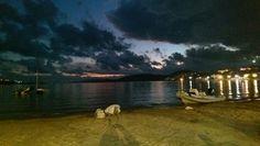 Günbatımı  Gümbet sahil