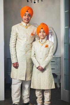 Indian Groom Wear - Groomsmen | WedMeGood #wedmegood