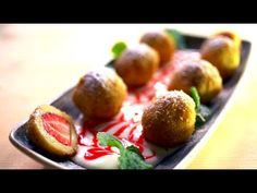 Borbás Marcsi szakácskönyve – Epres gombóc (2019.05.12.) - YouTube Hungarian Recipes, Hungarian Food, Fruit, Vegetables, Youtube, Hungarian Cuisine, Vegetable Recipes, Youtubers, Veggies