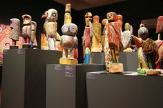 Indigenous art work on display at TARNANTHI Festival of Contemporary Aboriginal and Torres Strait Islander Art which ran in Adelaide from October 8 to 18, October 8, 2015. (Photo: ABC News/Angelique Donnellan)