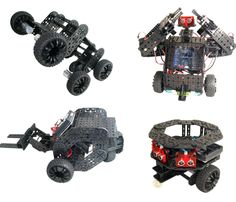 Multiplo, an Arduino-controlled, open-source robot kit, funded on Kickstarter.