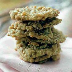 Coconut-Macadamia Nut Cookies | MyRecipes.com