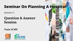 When we stagger and phase out the hospital, is it alright to construct while the hospital is in operation? What is the difference between space programming and working drawings? What kind of flooring is required for OT? Is special flooring & AC required only for the theater or also required for support areas like Doctors Lounge & Change Room & Recovery areas.