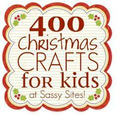 400 christmas craft ideas by BridgetMinnie