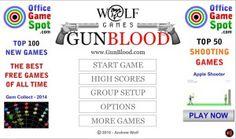 GUNBLOOD 상대방 보다 먼저 총을 쏴라! 플래시 게임