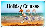 Helen Doron Early English oferă cursuri pentru a fi desfășurate în timpul diferitelor vacanțe de la școală: vacanța de vară, vacanța de iarnă și cea de primăvară. Cursurile sunt concepute pentru perioade mai scurte decât cursurile obișnuite și pentru a se concentra pe teme specific, distractive. Cursurile de vacanță se potrivesc studenților înrolați în cursurile Helen Doron sau noilor studenți care folosesc acest curs drept o experiență singulară în timpul unei vacanțe Helen Doron, Student, College Students