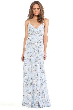 BB Dakota vestido maxi elvya flora
