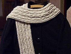 Sjaal met kabels