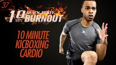 10 Min. Quick Kickboxing Cardio HIIT Home Workout Finisher | 10 Minute B...