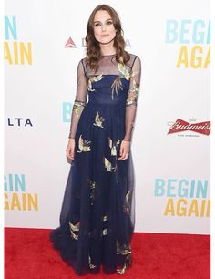 Keira Knightly and yet another perfect dress.