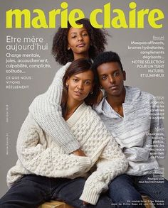 Parka, Sophie Thomas, Marie Claire France, Liya Kebede, Lemlem, Grow Together, Pretty Baby, Beautiful Soul, New Man