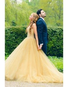 Velvet Beautiful Long Yellow Prom Dresses 2015 with Crystal Tulle vestidos  de formatura galajurken ballkleider 1433f67055fc