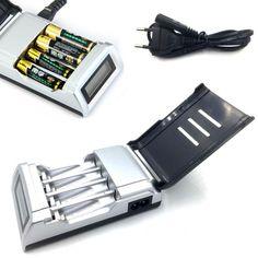 Купить товарВысочайшее Качество 4 Слоты ЖК Дисплей NiCd NiMh Зарядное Устройство для AA/AAA Аккумулятор ЕС Plug Смарт Зарядное Устройство #ЕТ1 в категории Зарядные устройствана AliExpress. Высочайшее Качество 4 Слоты ЖК-Дисплей NiCd NiMh Зарядное Устройство для AA/AAA Аккумулятор ЕС Plug Смарт-Зарядное Устройство #ЕТ1