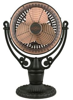 The Old Havana table fan brings to mind classic Havana island lifestyle. This antique looking fan will beautifully compliment your traditional or classic decor or offset a more modern look. With three