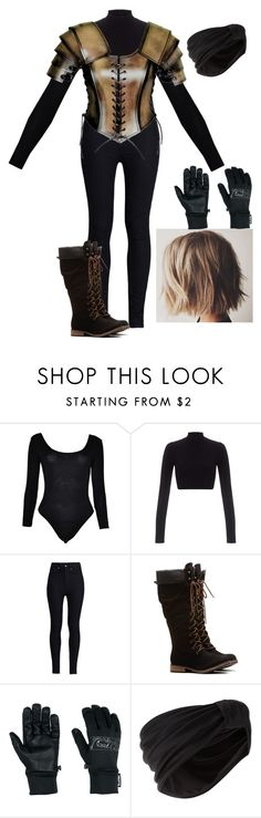 """""""YAL - Vioia Drokkain - Work"""" by littlemisslava ❤ liked on Polyvore featuring Lipsy, Rodarte, Outdoor Research, Jennifer Behr, women's clothing, women, female, woman, misses and juniors"""