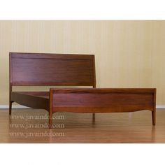 Solid Mahogany Bed Frame
