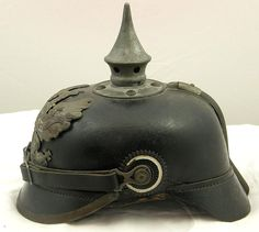 Prussian World War I enlisted pickelhaube