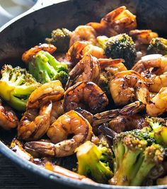 Awesome Honey Garlic Shrimp And Broccoli At Daily Simple Recipes. Your Place For All Your Favorite Recipes.