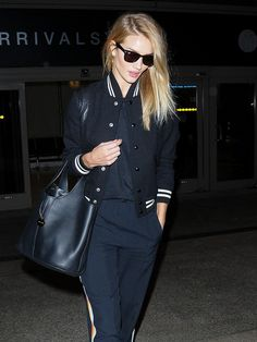 Rosie Huntington-Whiteley Just Slayed the Airport Style Game (Again)   WhoWhatWear