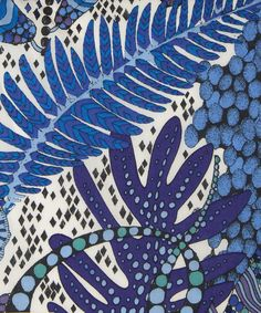 Liberty Art Fabrics Fornasetti Forest B Tana Lawn Cotton Textiles, Textile Prints, Textile Patterns, Textile Design, Fabric Design, Print Patterns, Pattern Fabric, Zentangle, Liberty Art Fabrics