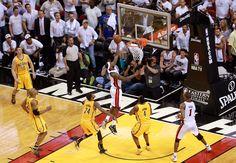 Game 1 Winning Lay Up of LeBron James. http://www.fantasybasketballmoneyleagues.com/lebron-james-lifts-miami