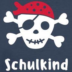 T-Shirt Einschulung Pirat - ein tolles Geschenk zum Kindergartenabschied oder Schulanfang! Zum Selbstgestalten!