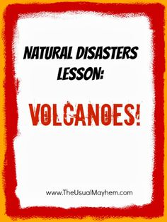 Middle school volcano unit with videos,resource links, and hands-on science {The Usual Mayhem}