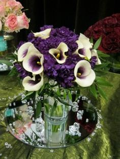 center pieces or use a version for bridesmaids bouquets