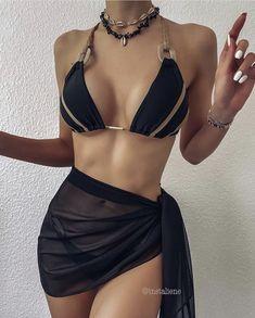 Bikini Outfits, Lingerie Outfits, Cute Swimsuits, Cute Bikinis, Swimwear Fashion, Bikini Fashion, Bikini Swimwear, Teen Fashion Outfits, Look Fashion