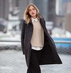 Jackson coat. Available custom-made or ready-to-wear. http://katherinehooker.com/catalog/winter-collection/coats/jackson-2/