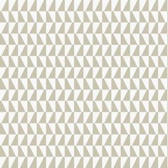 Papier peint géométrique gris Trapez - hookedonwalls - Au fil des Couleurs