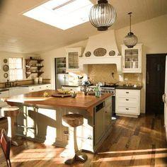 1920's modern decor | Lower photo: The new kitchen. Credit: Bob Chamberlin / Los Angeles ...