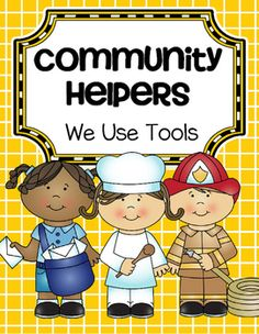 This is a collection of activities about Community Helpers and the tools that they use in their work, for preschool and Pre-K. The primary emphasis is the social studies aspect of furthering the understanding our community, and the fact that most adults have jobs in order to make money to support themselves and their family.