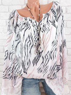 9342168f08f95b Floral Printed V-neck Long Sleeve Blouses can cover your body well