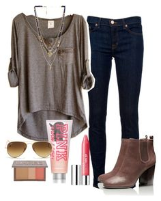 """it's sunny but cold--i hate weather"" by brooklm ❤ liked on Polyvore"