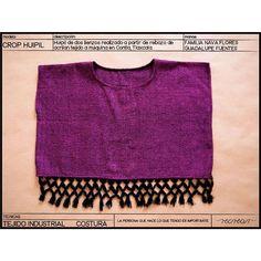 Crop huipil #tejido en el taller de la Familia Nava Flores en #Contla , #Tlaxcala  #rebozo #telar #tejido #textile #textiledesigns #hechoamano #handmade #comerciojusto #fairtrade #modaetica #eticfashion #huipil #top
