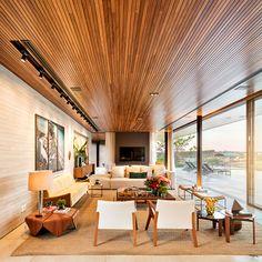 Fazenda Boa Vista Luxury Residence – Porto Feliz, São Paulo, Brazil – The Pinnacle List Room Interior, Home Interior Design, Interior Architecture, Interior Decorating, Tropical Sofas, False Ceiling Design, Best Sofa, Living Room Modern, My Dream Home