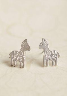 Zebra Companion Earrings