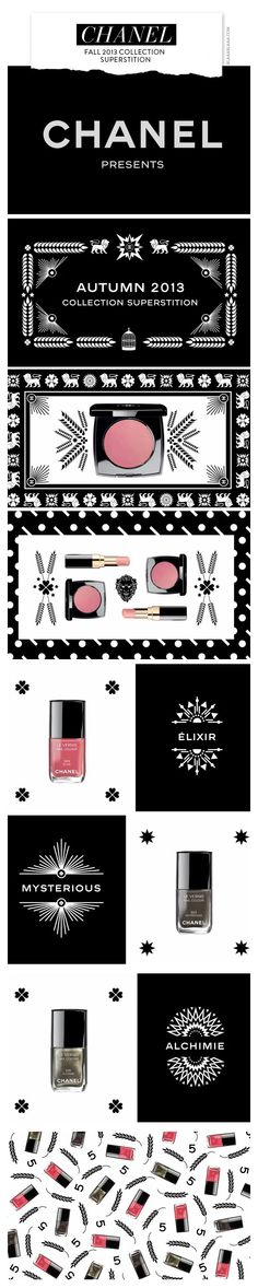 New Chanel Fall 2013 Make-up: Collection Superstition #myvsfalledit