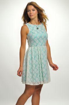 Krátké dívčí společenské šaty | Verino