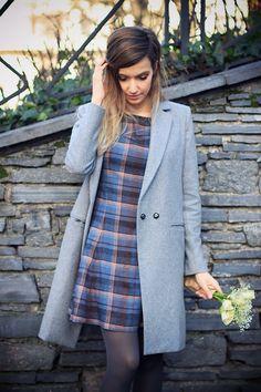 looks para usar abrigos vestido