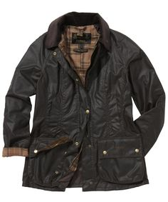 Barbour Ladies Beadnell Jacket-Ancient Tartan- the things I would do for this