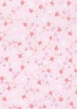 Liberty rose et violet - Papier peint Lutèce | Couleurs ...