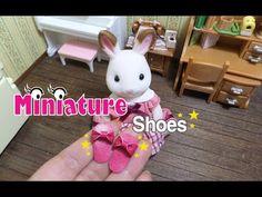 Miniature Shoes / Sylvanian Slipper/미니어쳐 신발/실바니안 슬리퍼/Doll house/ミニチュア スリッパ/ - YouTube