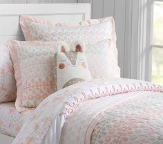 Margot Geo Printed Quilted Bedding #pbkids