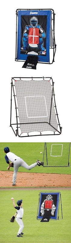 Batting Cages and Netting 50809: Baseball Softball Pitching Net Cage Training Practice Batting Outdoor Sports New BUY IT NOW ONLY: $64.46