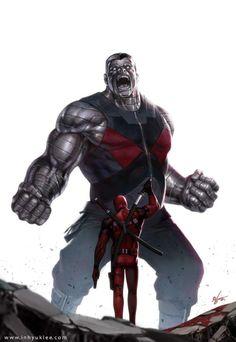Colossus vs Deadpool | In-Hyuk Lee