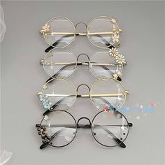 On-line Store Lolita delicate sister flat glasses body retro steel spherical Harajuku Japanese woman cherry blossom diffuse ornamental glasses Costume Accessories, Jewelry Accessories, Fashion Accessories, Fashion Jewelry, Lunette Style, Cute Sunglasses, Round Sunglasses, Fashion Eye Glasses, Magical Jewelry