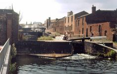 1130-Birmingham-Fazeley-Can.gif 660×422 pixels Birmingham Canal, Canal Boat, The Old Days, Rivers, Lakes, About Uk, Britain, Past, Landscapes